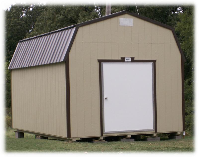 Wood Storage Sheds for Sale in Arkansas | Bald Eagle Barns