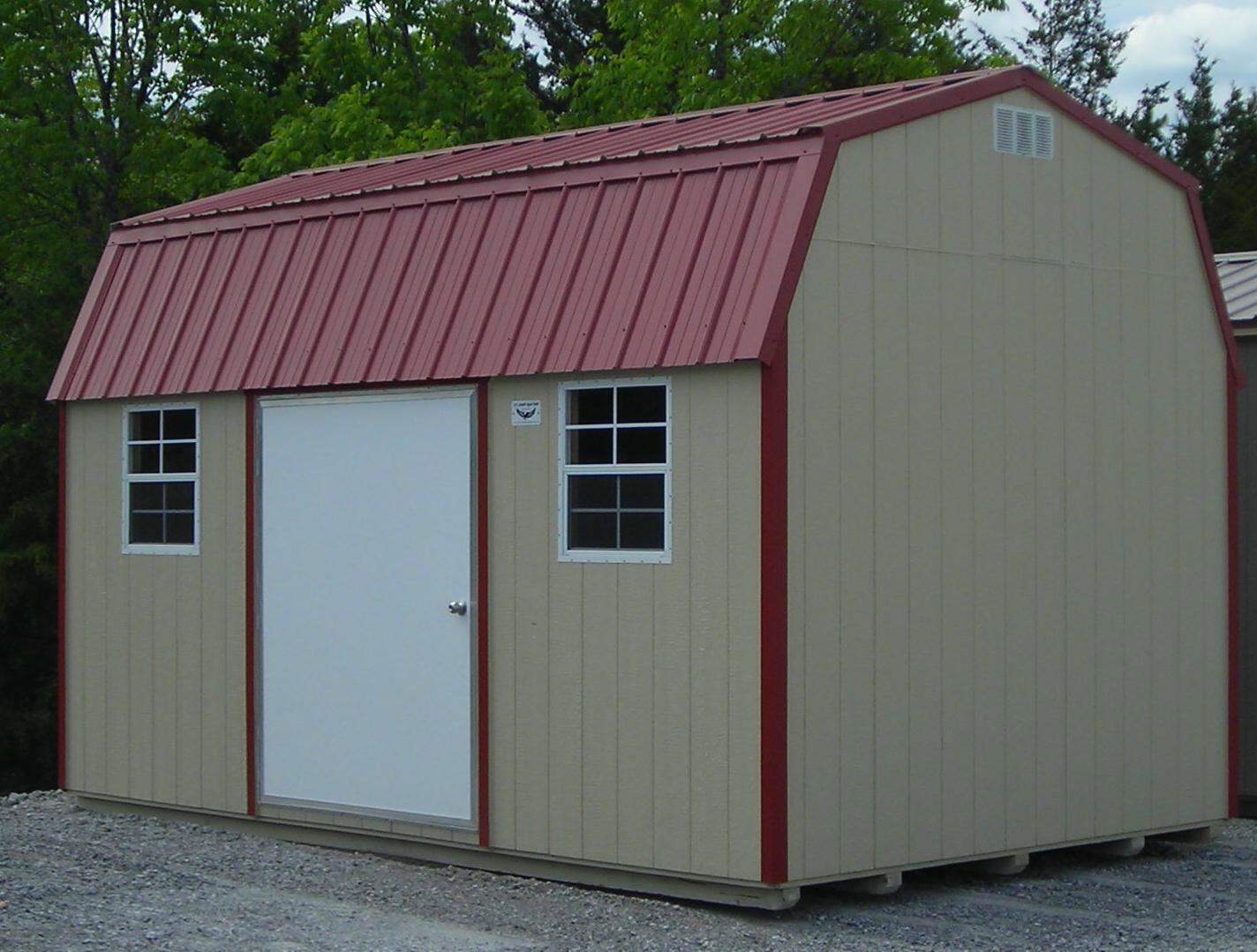 Wood Storage Sheds Bald Eagle Barns Metal Roofing